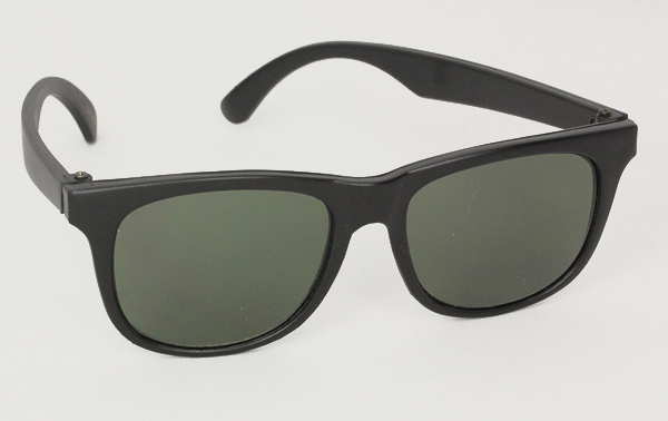 Sort børnesolbrille ( 1-3 år ) - Design nr. 3038